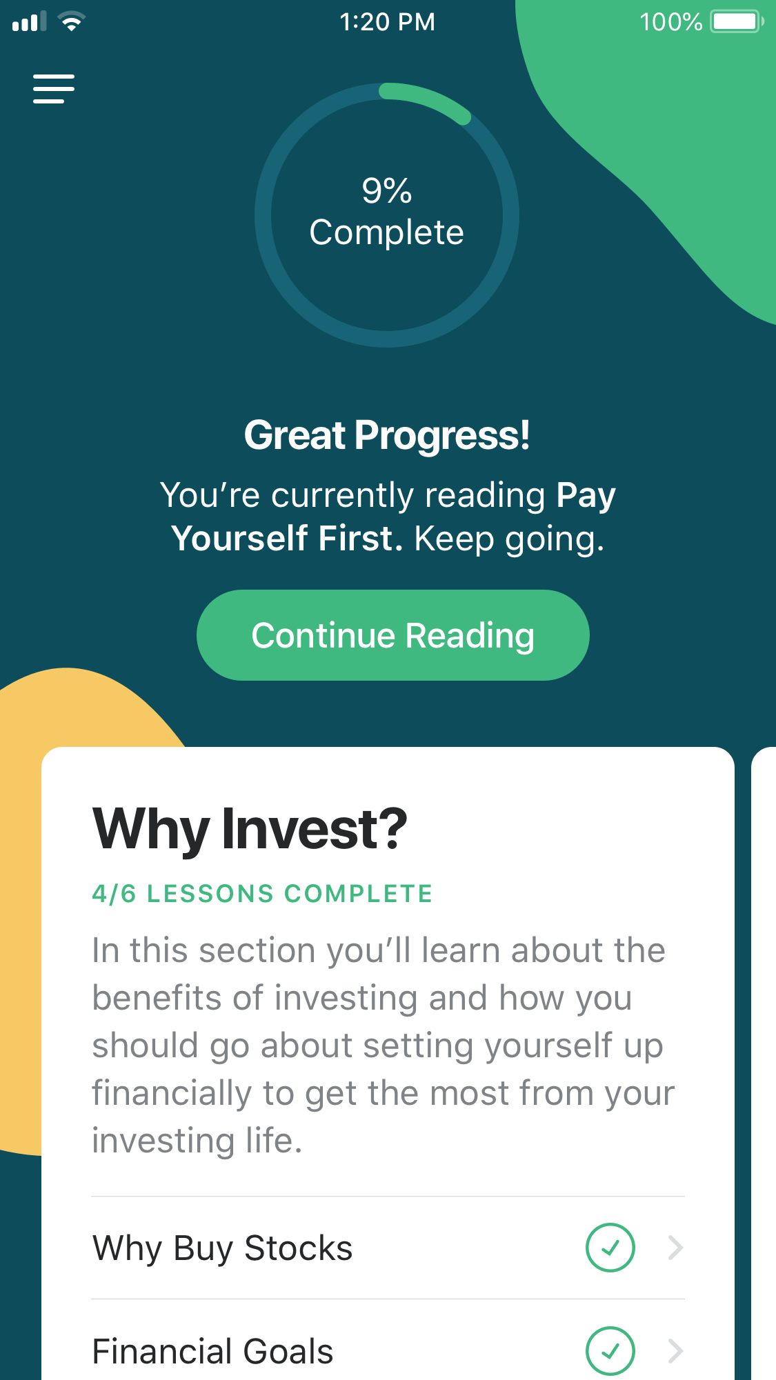 Learn by MyWallSt App